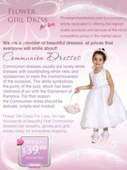 Communion Dresses! the highest quality products !